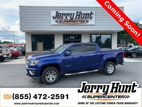 2016 Chevrolet Colorado for sale at Jerry Hunt Supercenter in Lexington NC