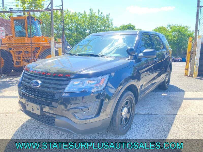 2018 Ford Explorer for sale at State Surplus Auto in Newark NJ