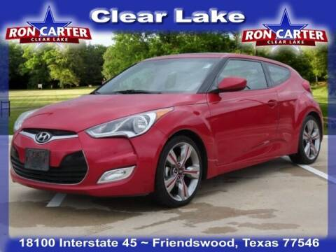 2013 Hyundai Veloster for sale at Ron Carter  Clear Lake Used Cars in Houston TX