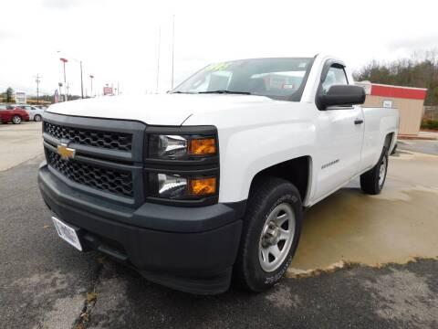 2015 Chevrolet Silverado 1500 for sale at Auto Wholesalers Of Hooksett in Hooksett NH