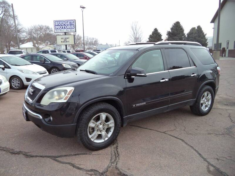 2008 GMC Acadia for sale at Budget Motors - Budget Acceptance in Sioux City IA