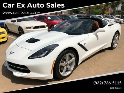 2014 Chevrolet Corvette for sale at Car Ex Auto Sales in Houston TX