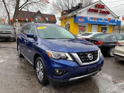 2017 Nissan Pathfinder for sale at C & M Auto Sales in Detroit MI