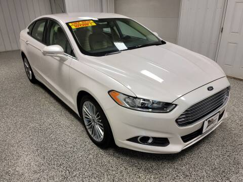 2013 Ford Fusion for sale at LaFleur Auto Sales in North Sioux City SD