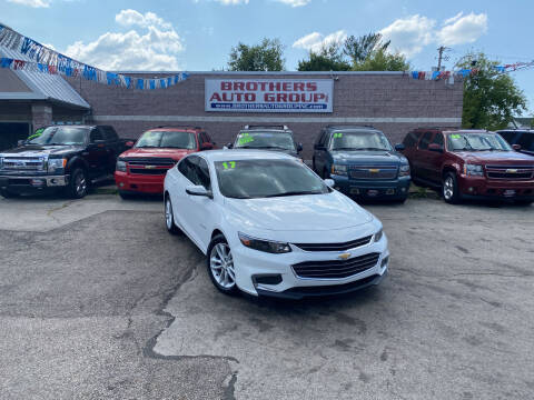 2017 Chevrolet Malibu for sale at Brothers Auto Group in Youngstown OH