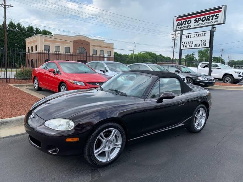 2004 Mazda MX-5 Miata for sale at Auto Sports in Hickory NC