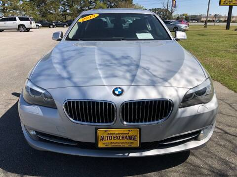 2013 BMW 5 Series for sale at Washington Motor Company in Washington NC