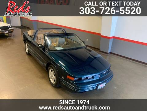 1995 Oldsmobile Cutlass Supreme for sale at Red's Auto and Truck in Longmont CO