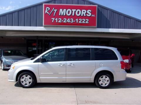 2012 Dodge Grand Caravan for sale at RT Motors Inc in Atlantic IA