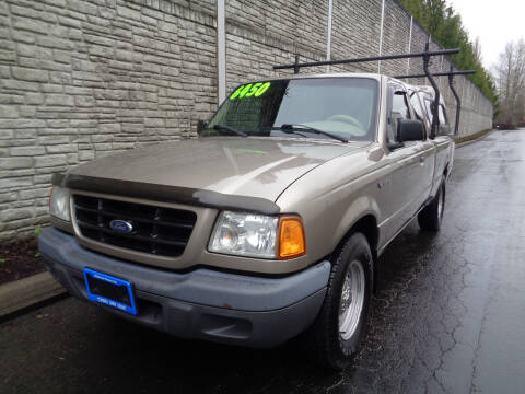 2003 Ford Ranger for sale at Matthews Motors LLC in Algona WA