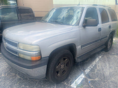2005 Chevrolet Tahoe for sale at Castle Used Cars in Jacksonville FL