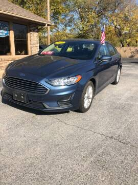 2019 Ford Fusion for sale at FRANK E MOTORS in Joplin MO