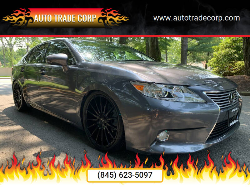 2013 Lexus ES 350 for sale at AUTO TRADE CORP in Nanuet NY