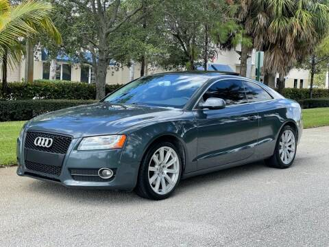 2011 Audi A5 for sale at VE Auto Gallery LLC in Lake Park FL