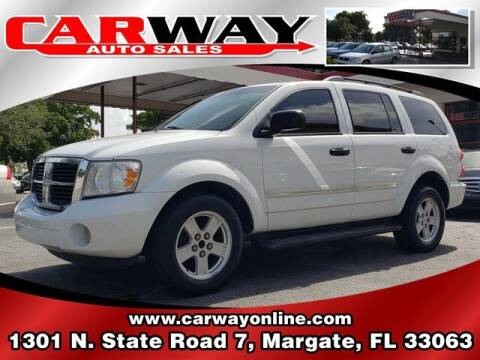 2009 Dodge Durango for sale at CARWAY Auto Sales in Margate FL