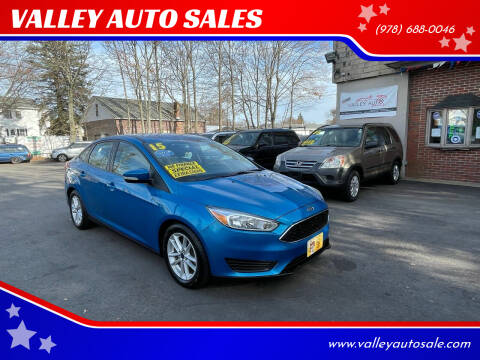 2015 Ford Focus for sale at VALLEY AUTO SALES in Methuen MA
