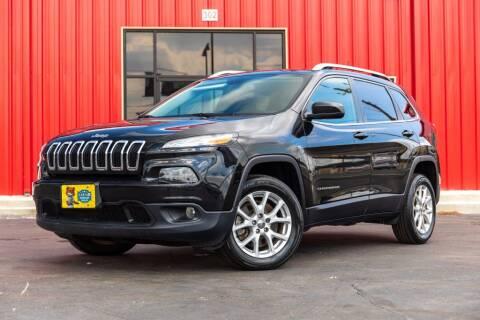 2017 Jeep Cherokee for sale at Kelley Autoplex in San Antonio TX