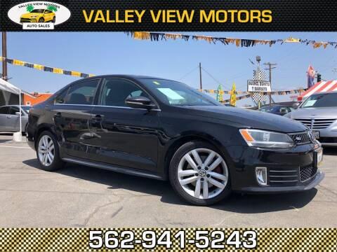 2012 Volkswagen Jetta for sale at Valley View Motors in Whittier CA
