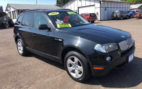 2007 BMW X3 for sale at Freeborn Motors in Lafayette, OR