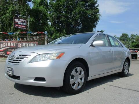 2007 Toyota Camry for sale at Vigeants Auto Sales Inc in Lowell MA