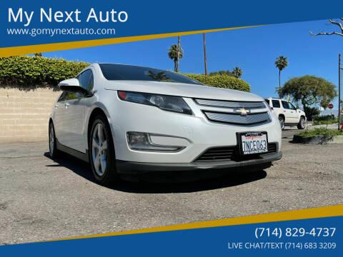 2015 Chevrolet Volt for sale at My Next Auto in Anaheim CA