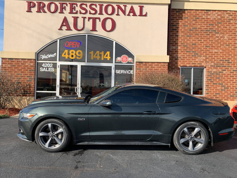 2015 Ford Mustang for sale at Professional Auto Sales & Service in Fort Wayne IN