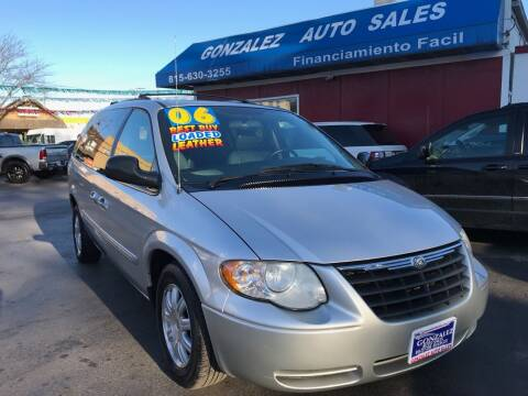 2006 Chrysler Town and Country for sale at Gonzalez Auto Sales in Joliet IL