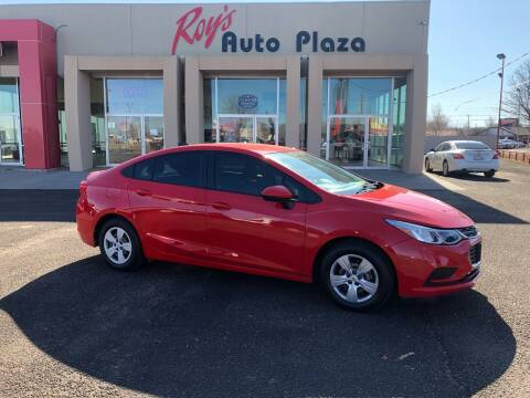 2017 Chevrolet Cruze for sale at Roy's Auto Plaza in Amarillo TX