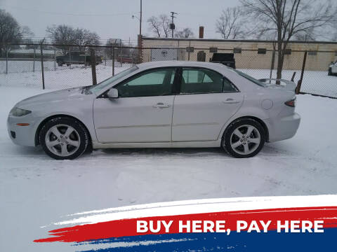 2008 Mazda MAZDA6 for sale at MIKE'S CYCLE & AUTO in Connersville IN