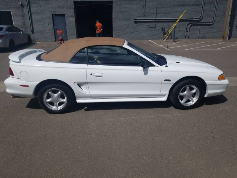 1997 Ford Mustang for sale at The Car Buying Center in St Louis Park MN