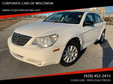 2007 Chrysler Sebring for sale at CORPORATE CARS OF WISCONSIN - DAVES AUTO SALES OF SHEBOYGAN in Sheboygan WI