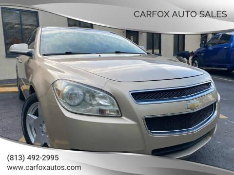 2008 Chevrolet Malibu for sale at Carfox Auto Sales in Tampa FL