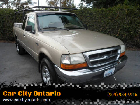 2000 Ford Ranger for sale at Car City Ontario in Ontario CA