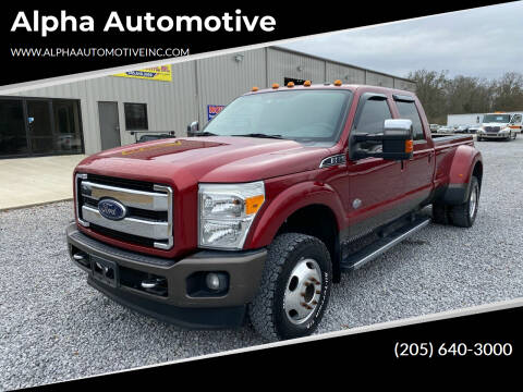 2016 Ford F-350 Super Duty for sale at Alpha Automotive in Odenville AL
