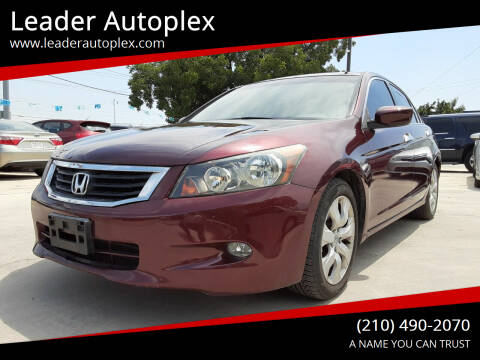 2009 Honda Accord for sale at Leader Autoplex in San Antonio TX