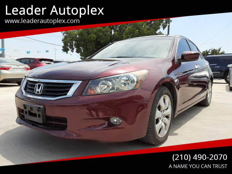 2009 Honda Accord for sale at Leader Autoplex in San Antonio TX