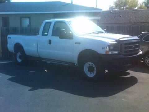 2002 Ford F-250 Super Duty for sale at University Auto Sales Inc in Pocatello ID