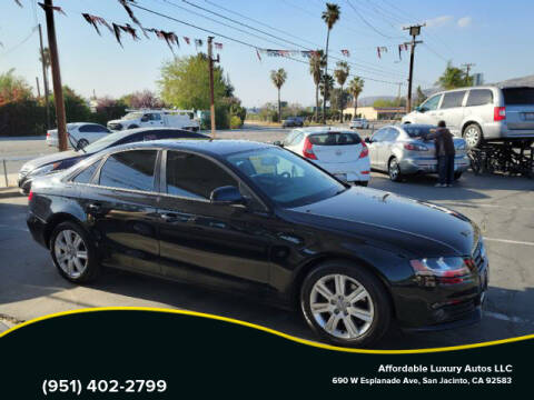 2009 Audi A4 for sale at Affordable Luxury Autos LLC in San Jacinto CA