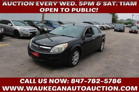 2009 Saturn Aura for sale at Waukegan Auto Auction in Waukegan IL