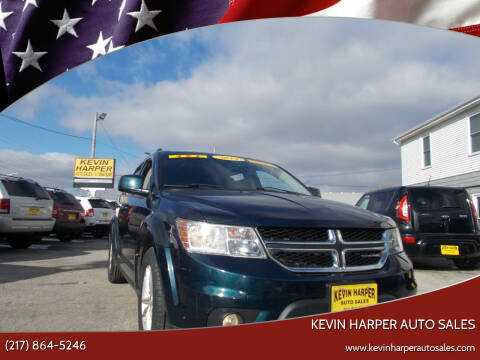 2014 Dodge Journey for sale at Kevin Harper Auto Sales in Mount Zion IL