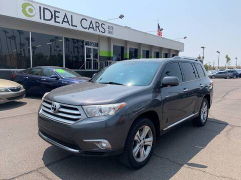 2013 Toyota Highlander for sale at Ideal Cars East Mesa in Mesa AZ