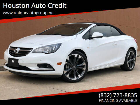 2016 Buick Cascada for sale at Houston Auto Credit in Houston TX