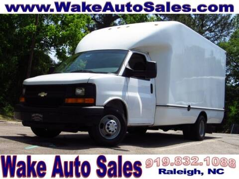 2013 Chevrolet Express Cutaway for sale at Wake Auto Sales Inc in Raleigh NC