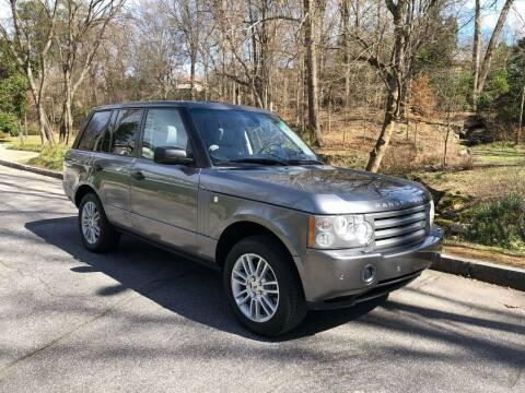 2009 Land Rover Range Rover for sale at Motor Co in Atlanta GA