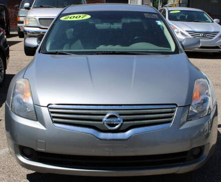 2007 Nissan Altima for sale at EZ PASS AUTO SALES LLC in Philadelphia PA