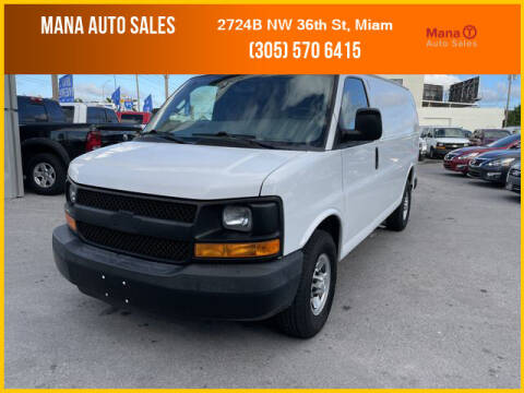 2016 Chevrolet Express Cargo for sale at MANA AUTO SALES in Miami FL