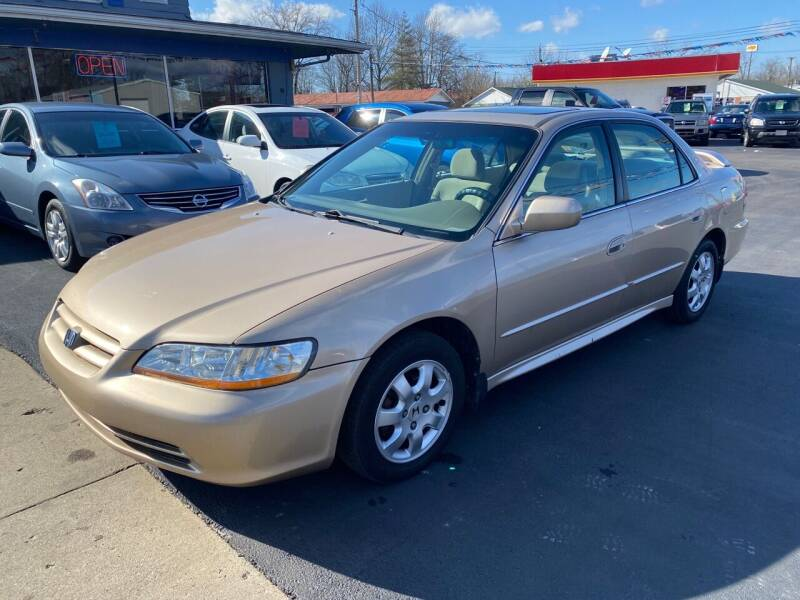 2002 Honda Accord for sale at Wise Investments Auto Sales in Sellersburg IN