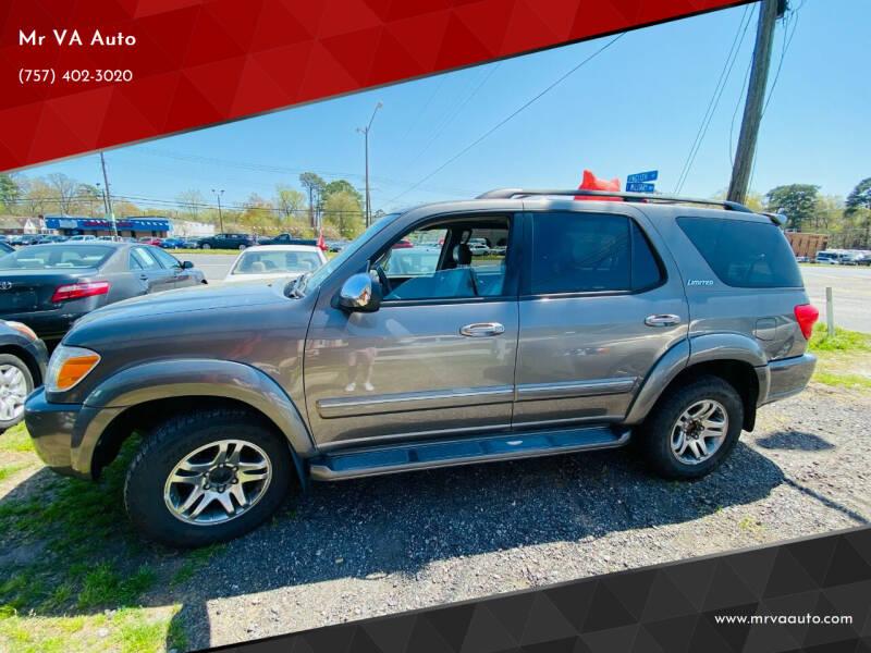 2007 Toyota Sequoia for sale at Mr VA Auto in Chesapeake VA