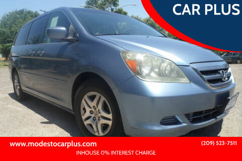 2007 Honda Odyssey for sale at CAR PLUS in Modesto CA