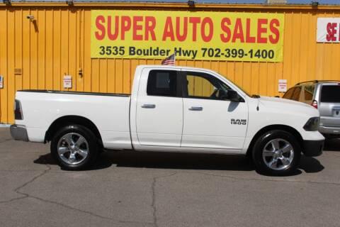 2016 RAM Ram Pickup 1500 for sale at Super Auto Sales in Las Vegas NV